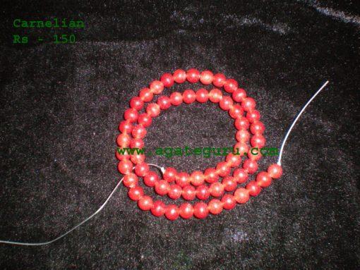 Carnelian Beads