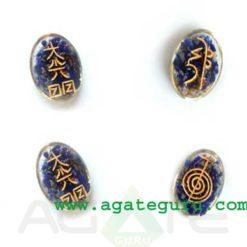 Lapis Lazuli Orgone Usai Reiki Set