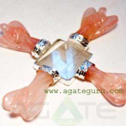 Rose Quartz Angel Healing Energy Generator