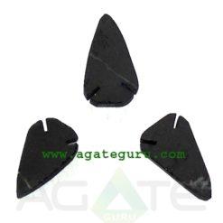Black Tourmaline Flat Arrowheads