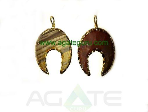 Eletroplated-arrowhead-pend
