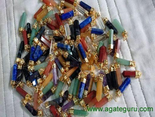 Mix Cap Pencil pendants points
