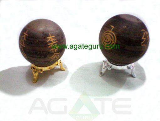 Narmada River Stone Usui Reiki Ball Sphere
