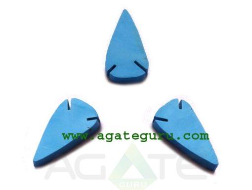 Torquoise Flat Arrowheads