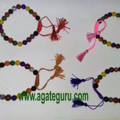 7 Chakra elastic 10mm bracelet