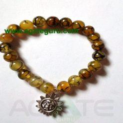 Squama rock/Dragon Bone Sun Bracelets