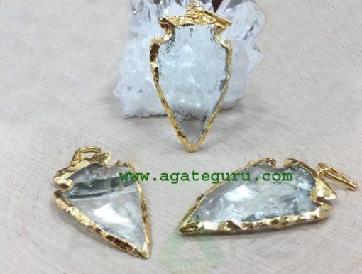 Glass-Arrowhead-Pendant,-Gl