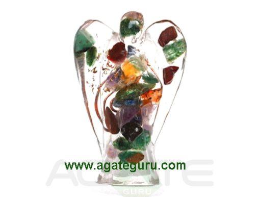 Mix Gemstone Orgonite, (2)