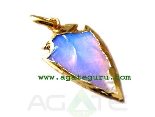 Opaline Opal Glass Arrowhead Gemstone : Arrowhead Indian Arrowhead Supplies