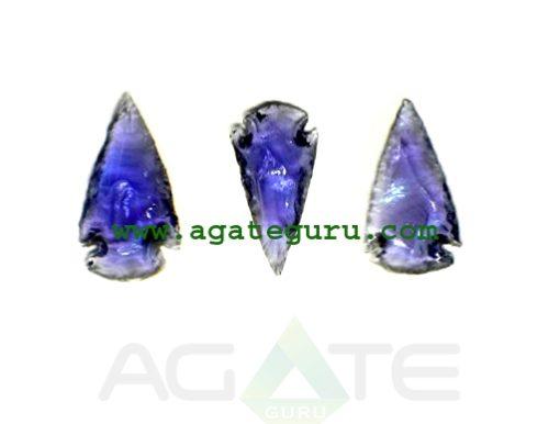 Purple-Glass-1-Inch-Arrowhe