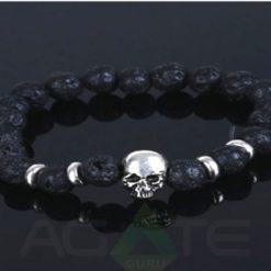 Lava Stone beads with Buddha Bracelet : Wholesaler Manufacturer