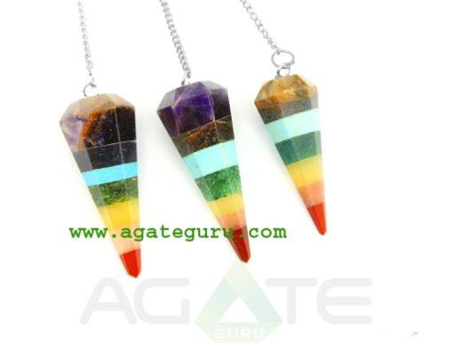 Bonded Chakra Cone Pendulum : Chakra Pendulum exporter