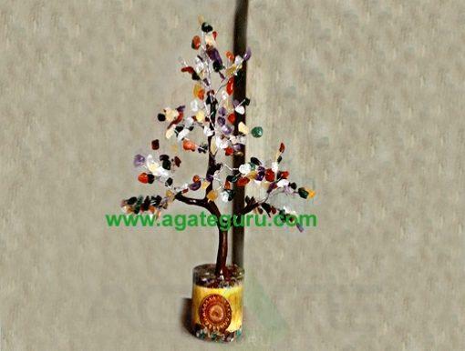 Gemstone Tree - 300pcs Chips Orgone Star Base Tree