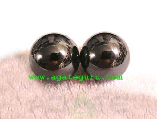 Wholesale Gemstone Balls : Hematite Spheres from INDIA