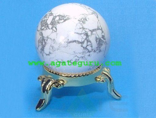 Howlite Ball Sphere : Gemstone Balls Wholesaler Manufacturer