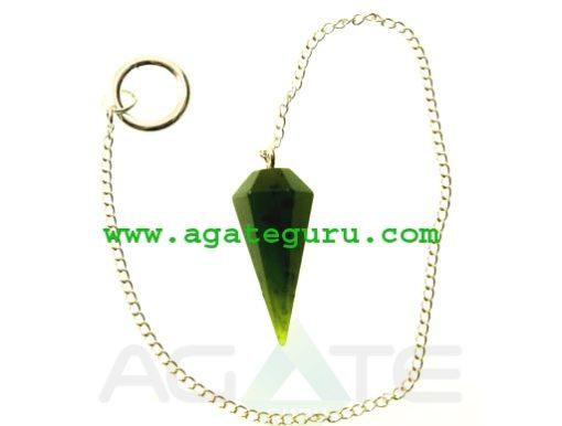Jade Crystal Pendulum Dowser