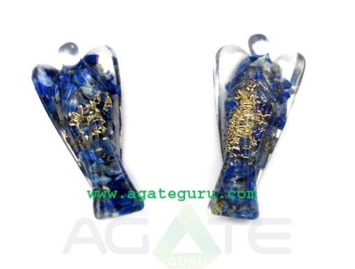 Lapis Lazuli 2inch Angels : Orgone Angels : Healing Orgone Crystals