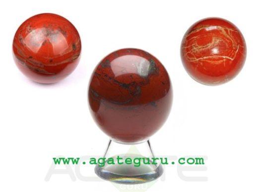 Red Jasper Crystal Sphere