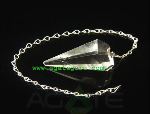 Crystal Quartz Pendulum Dowser