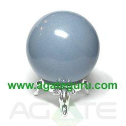 Angelite Balls : Healing Gemstone Spheres Gemstone Balls Wholesaler Manufacturer