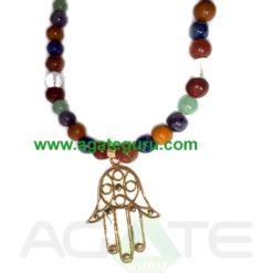 Fengshui 7 Chakra Yoga Necklace : India wholesaler Manufacturer