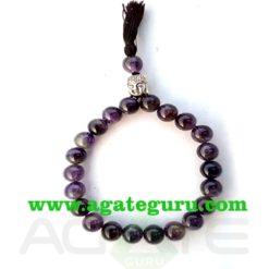 Amethyst Bracelet : Buddhist healing bands