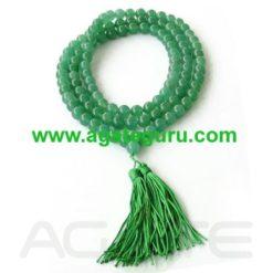 Green Aventurian jaap Mala