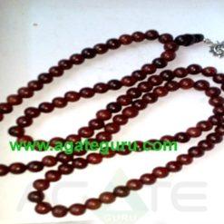 Sandal wood beads with sun goddes jaap mala