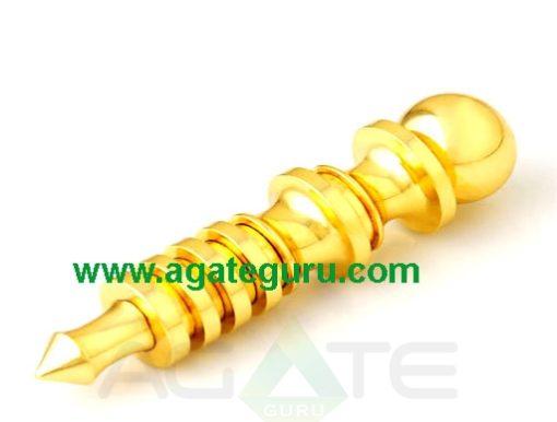 Isis Pendulum 4 Ring Brass Copper Gold