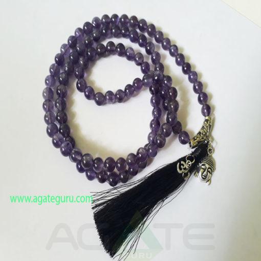 Amethyst-Natural-Beads-Jaap-Mala-with-Buddha