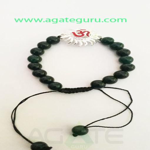 Black-Agate-Sun-Charm-Bracelet
