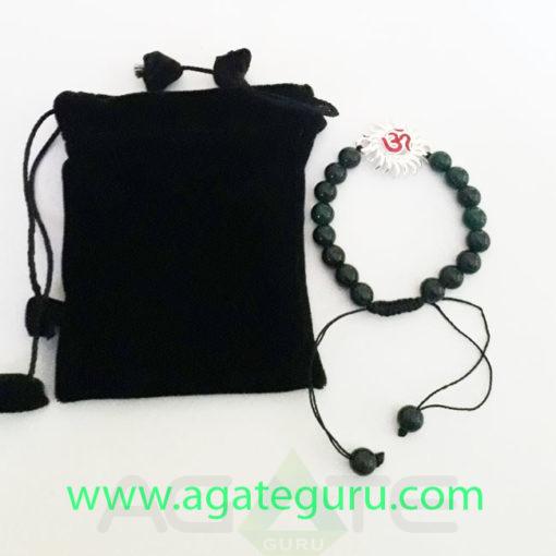 Black-Agate-Sun-Charm-Bracelet-With-Velvet-Pouch