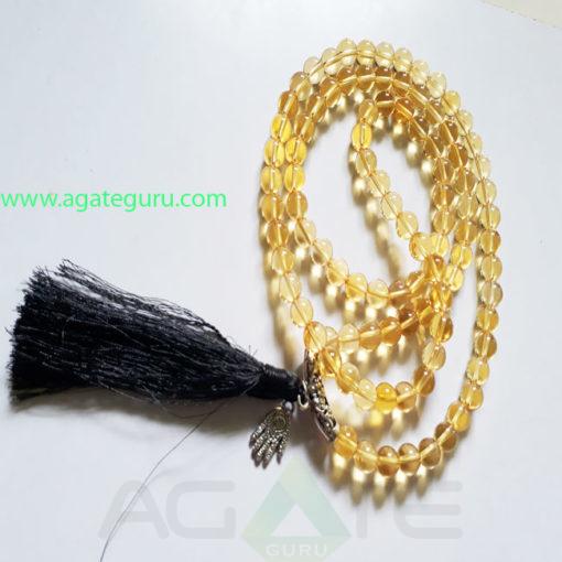 Citrine-Natural-Beads-Prayer-Jaap-Mala