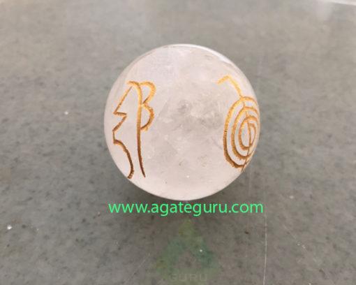 Crystal-Quartz-Engrave-Usai-Reiki-Set-Sphere