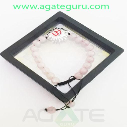Crystal-Rose-Quartz-Om-Charm-Crystal-Rose-Quartz-Om-Charm-Bracelet-with-BoxBracelet-with-Box