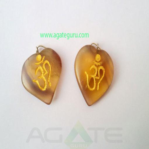 Engrae-Multi-Flouride-Om-Heart-Pendant