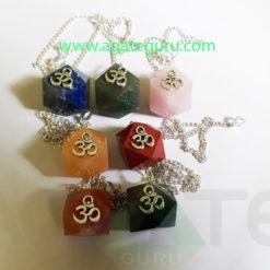 Hexagone-with-Om-Chakra-Pendulum