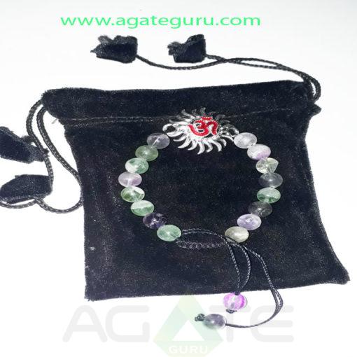 Multy-Floarite-Natural-Beads-Ohm-Bracelet
