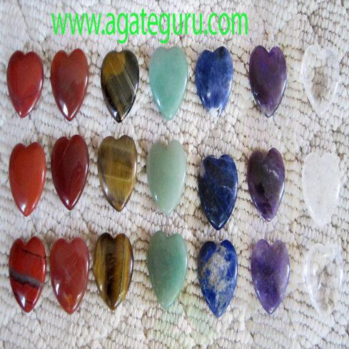 Natural-Gemstone-Puffy-Heart