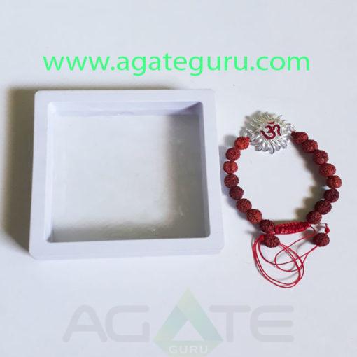Rudraksh-Bracelet-With-Om-Charm-Bracelet