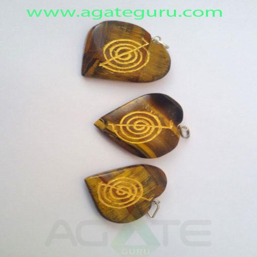 Tiger-Eye-Engrave-Cho-ko-Ra-Heart-Pendant