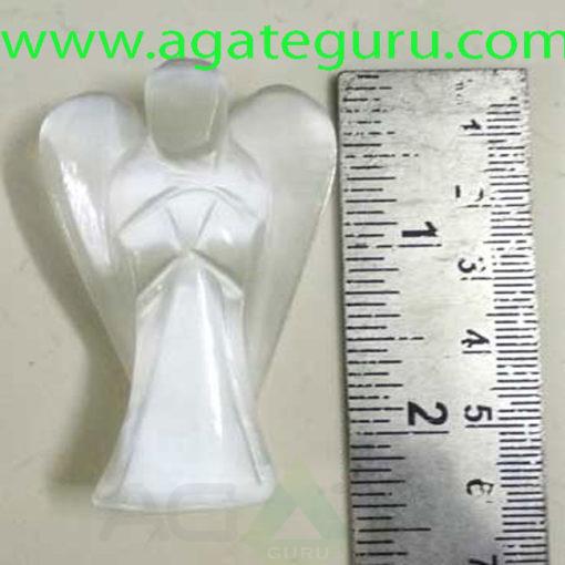 White-Selenite-Angels--Genuine-Gemstone-Angels