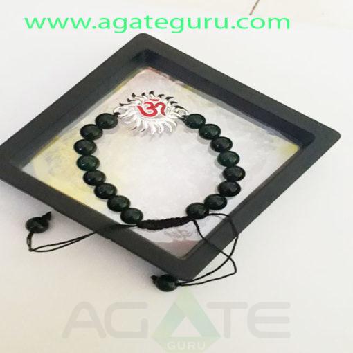 lava-Beads-Handmade-Om-Sun-Charm-Bracelet