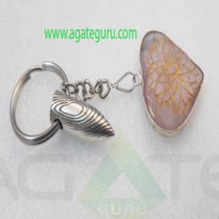 Amethyst-Engraved-Bullet-Keychain