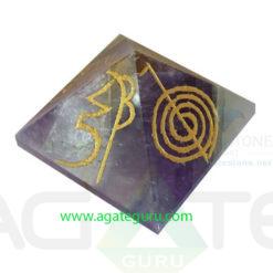 Amethyst-Reiki-Symbol-Pyramids