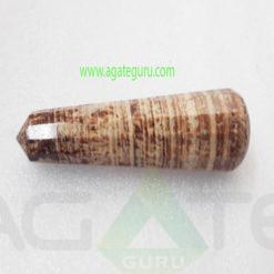 Aragonite-Faceted-Healing-Wand