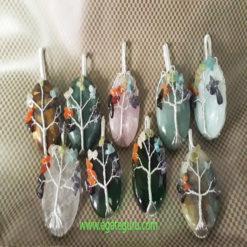Assorted-Gemstone-Tree-Of-Life-Healing-Pendent