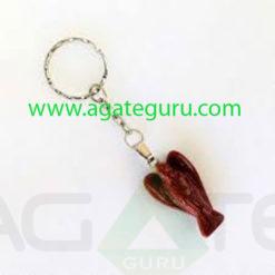 Gemstone-Angel-Key-Ring