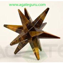 Tigereye-Agate-12-Point-Merkaba-Star